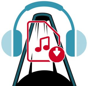 Audio file download