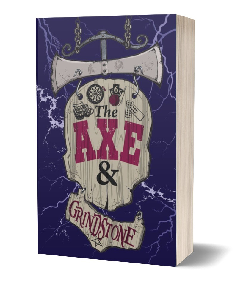 The cover of Axe & Grindstone
