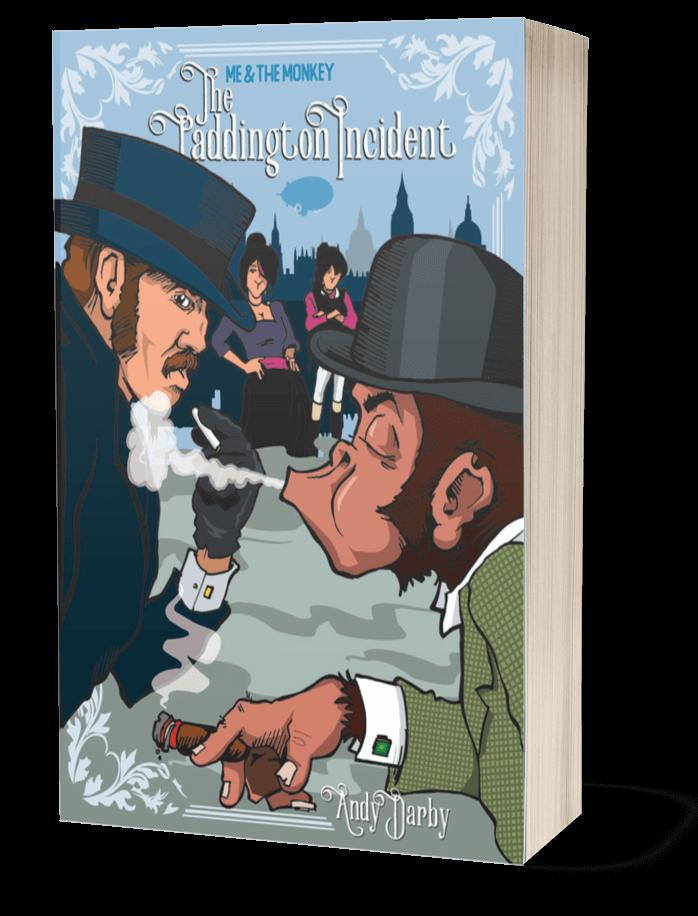 The Paddington Incident 3D Book image